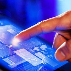 touch screen 250x250 internal